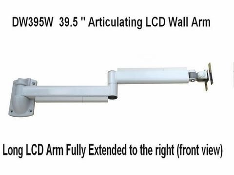 Lcd Monitor Wall Arm, Extra Long Swing Arm Tv Mount