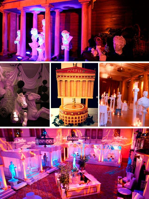 Decoraci n griega fiesta griega pinterest - Decoracion griega ...