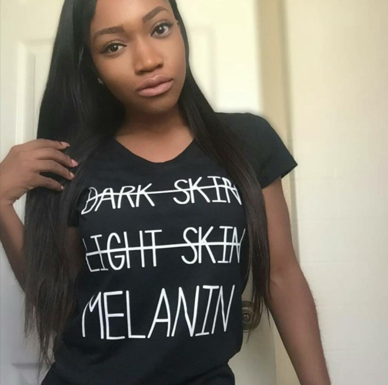 Black light t shirt ideas - Yasss All Of Us Black Girls Melanin