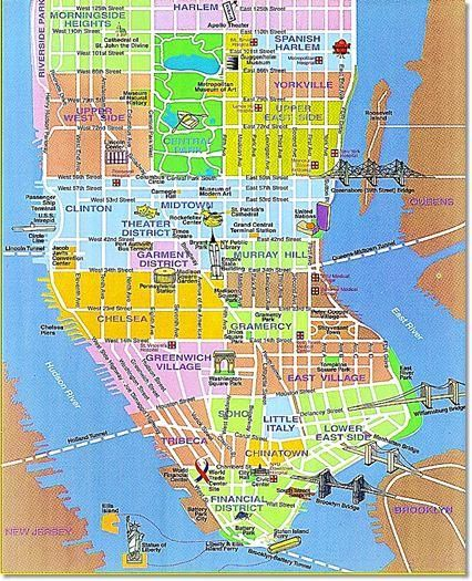 Battery Park City Maps New York Hotels In