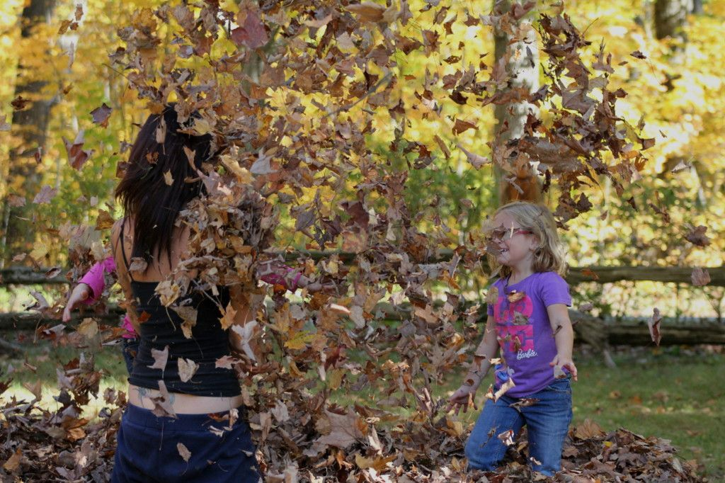 Fall time is fun time ... just ask any kid ... young or old and they will tell ya.  Photo by Steph Vandermey