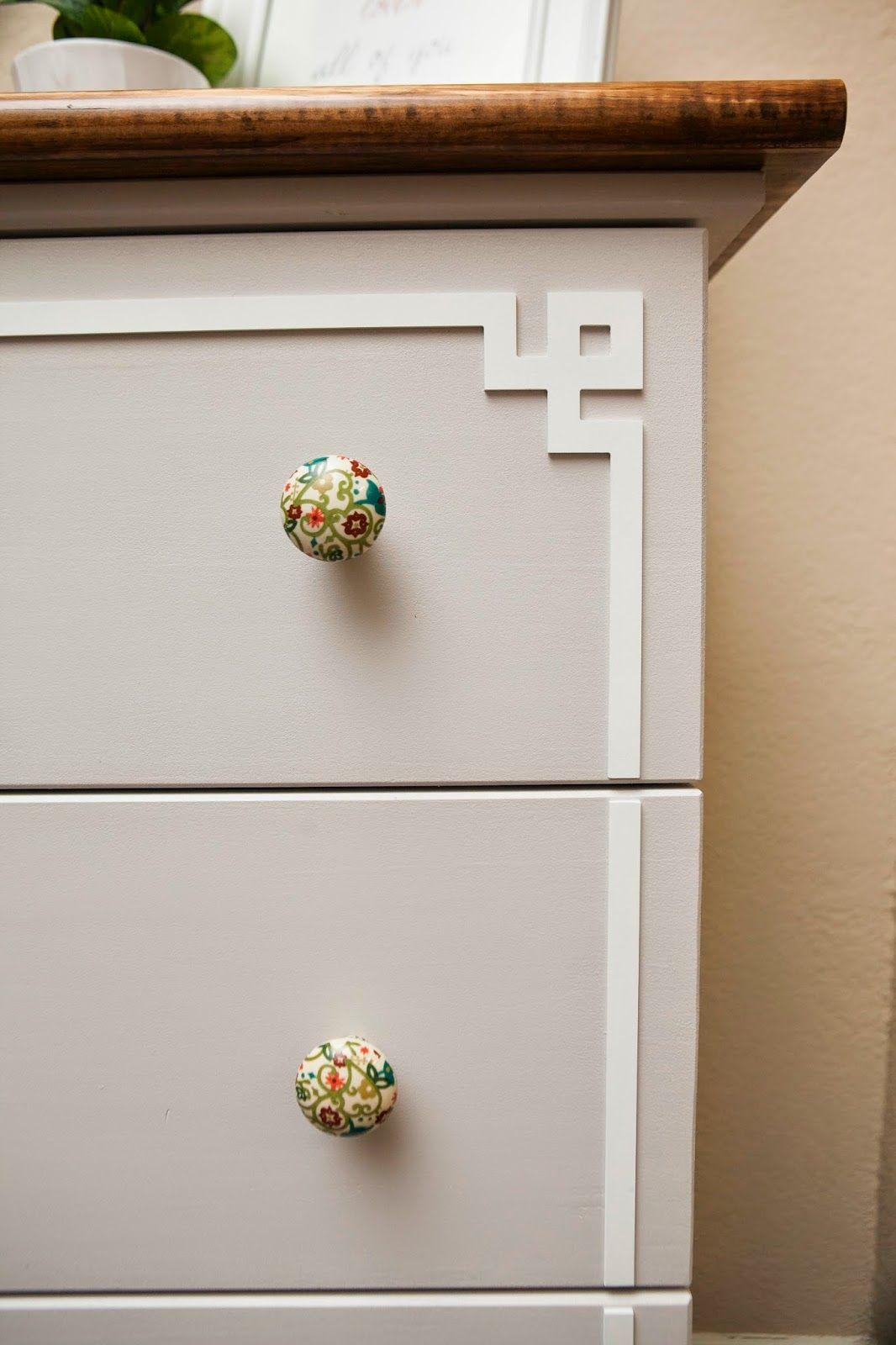 Ikea Hack: Tarva Dresser - Overlays Pippa Tarva Kit #2 | My O ...