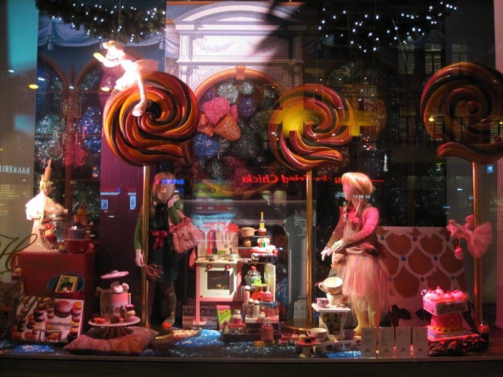 de Bijenkorf Christmas Window Display 2012