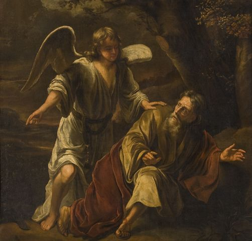 Приписывается: Фердинанду Болю (1616–1680) Biblical Scene (около 1645-1669, Rijkscollectie)