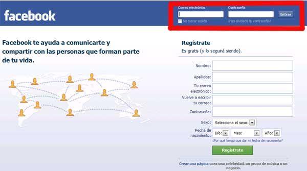 Entrar En Facebook Es Muy Sencillo Te Explicamos Cómo Iniciar Sesión En Facebook Contraseñas Cuenta Facebook