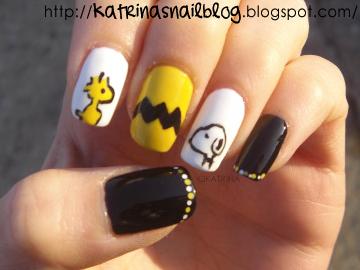 Uñas de Snoopy basicas