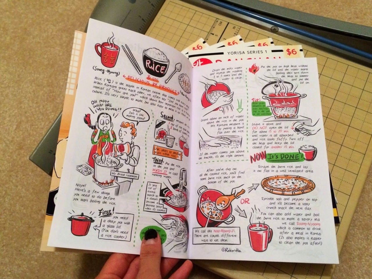 Preview of a mini comics from banchan in two page korean cooking preview of a mini comics from banchan in two page korean cooking comics by robin forumfinder Gallery