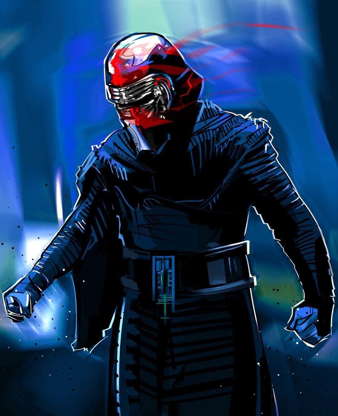 Kylo Ren Episode IX starwars art by venamis Star wars