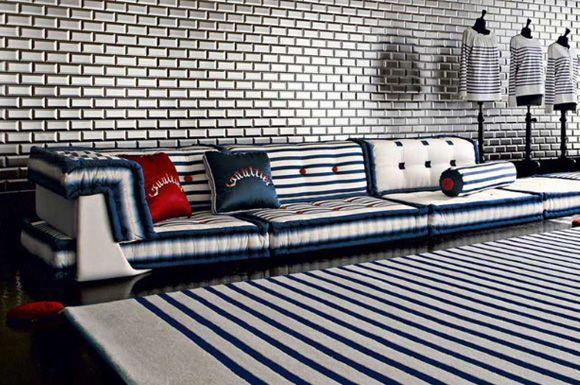 Jean Paul Gaultier Dresses Up Roche Bobois Furniture Luxury Living Room Modern Patio Furniture Living Design