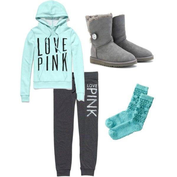 Victorias Secret Polyvore Winter Fashion Outfits