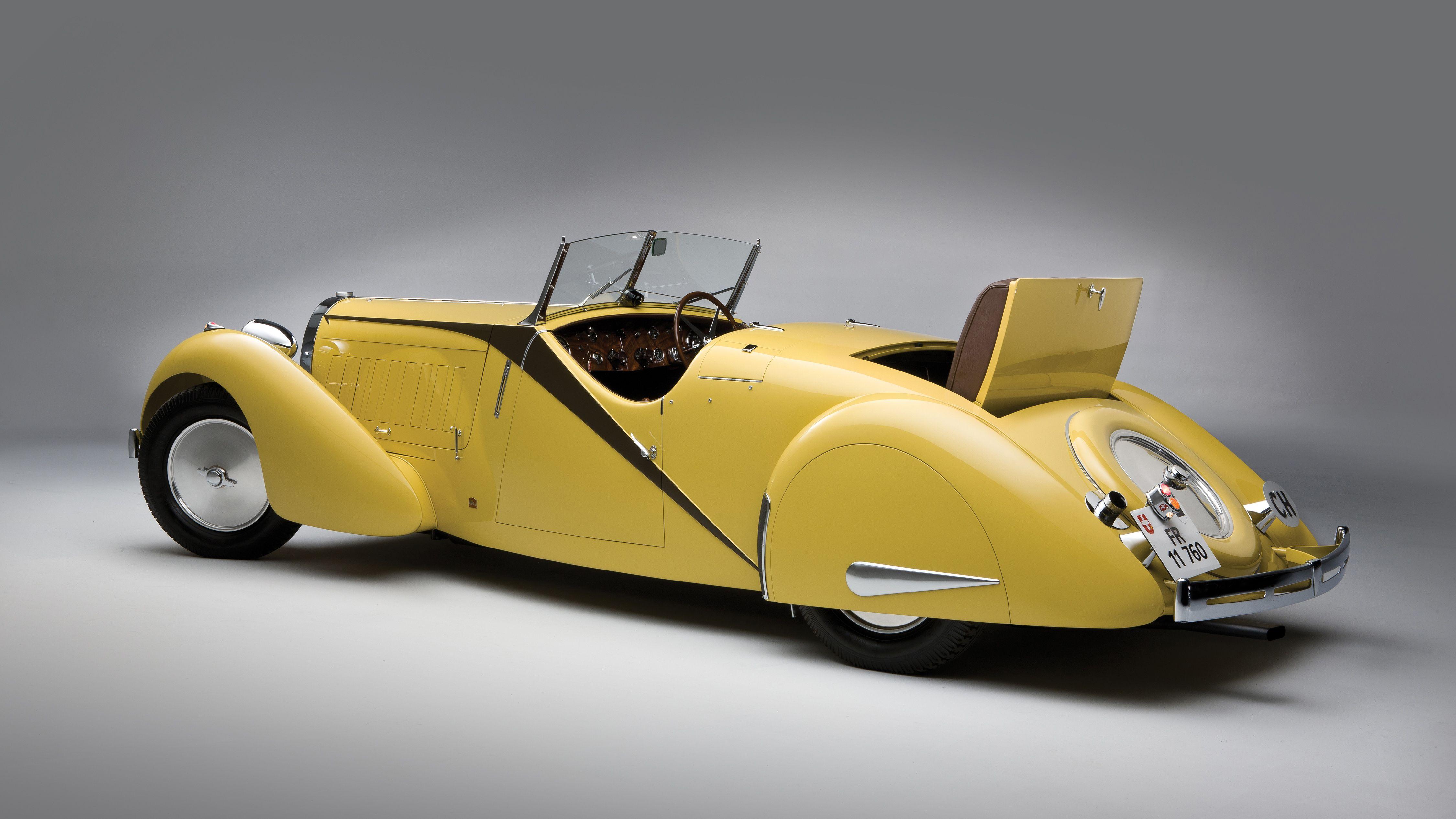 Bugatti Type 57 Roadster 1935 Klassieke Auto S Bugatti Auto