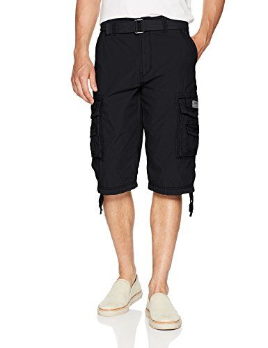 a3e0d9d439 Unionbay Mens Cordova Belted Cargo Short Messenger - 34 - Black #fashion  #clothing #shoes #accessories #mensclothing #shorts (ebay link)
