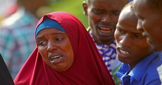 Somali families are refusing to bury the bodies of 10 loved ones including three children until the government takes responsibilityfor killing them in a U.S.-backed military raid officials said on Sunday.  The ten were shot dead when Somalias army supported by U.S. troops carried out an operation in Bariire village about 50 km (30 miles) from the capital on Friday.  Ali Nur the deputy governor of the surrounding Lower Shabelle region told Reuters the bodies would be stored until the…