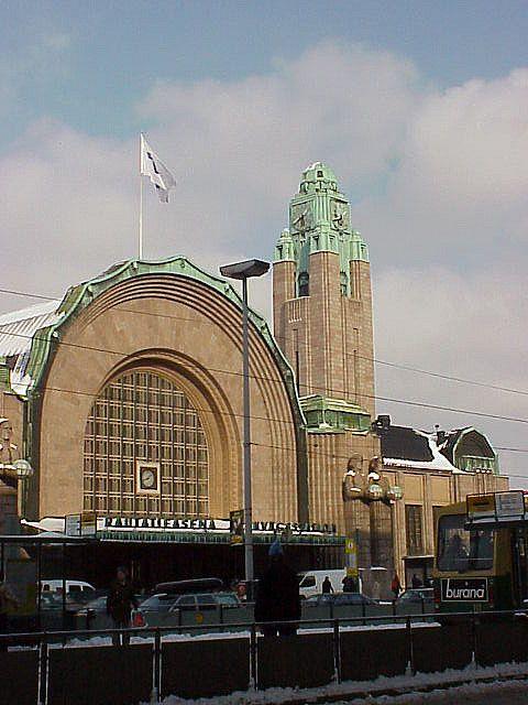 Helsinki Railway Station, Finland