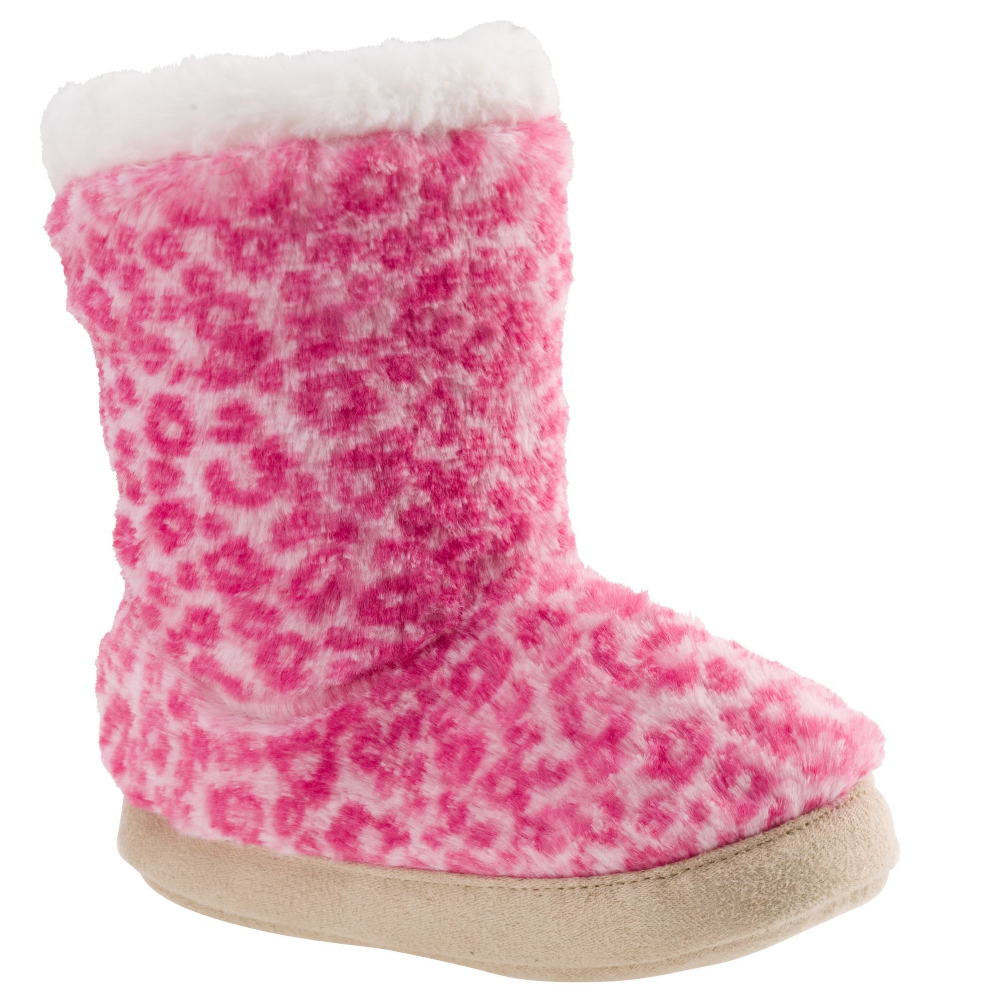 afc682c9e29 Fuzzy cheetah slipper boots from Carter's | litlle fuzzy boots ...