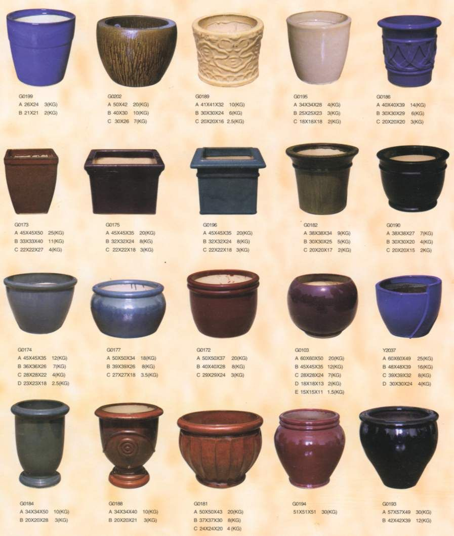 Pictures Of Different Flower Pots Google Search Clay Flower Pots Flower Pots Pottery