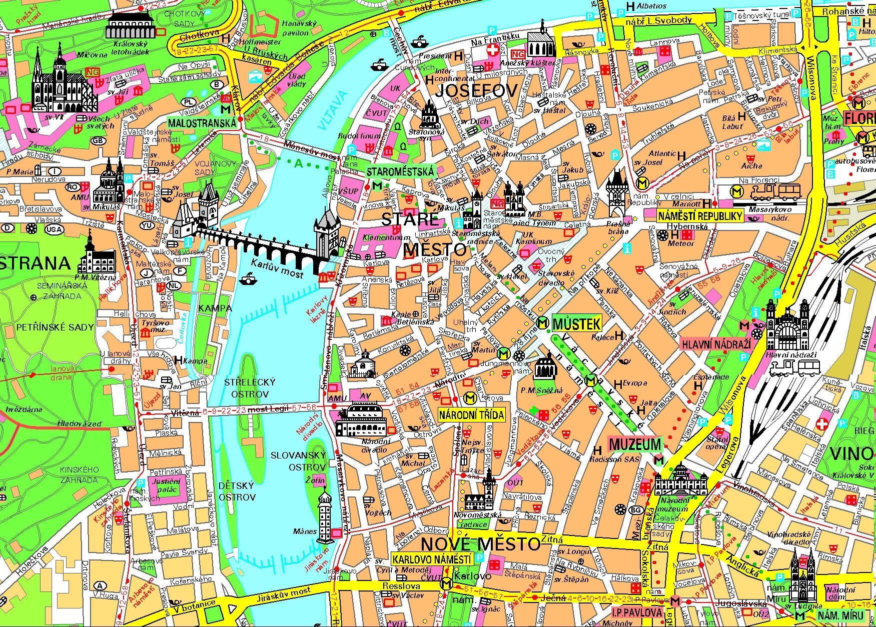 praga mapa http://.mundocity.com/europa/praga/mapa praga centro.  praga mapa
