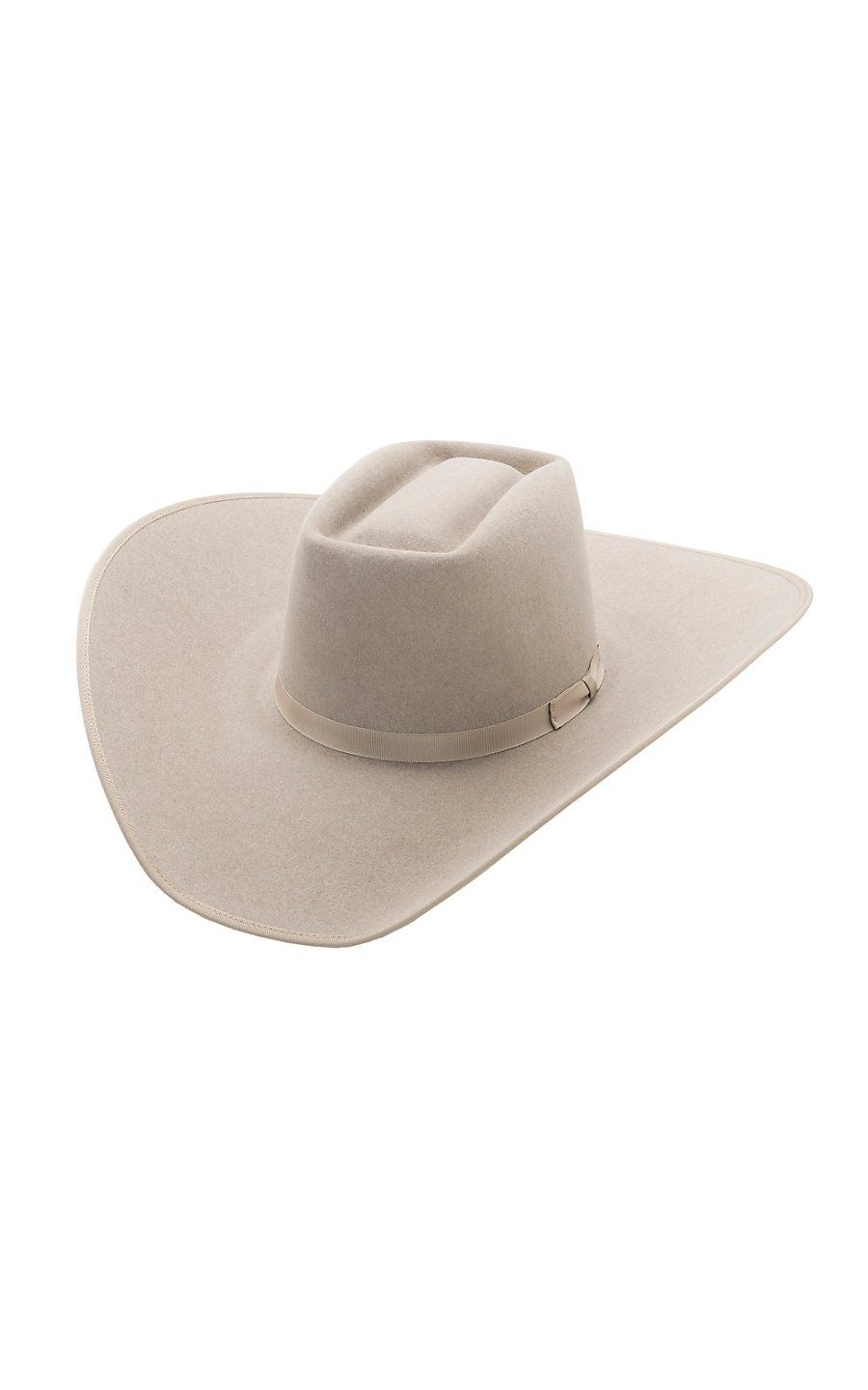 Rodeo King® 10X Brick Ash Bound Edge Felt Cowboy Hat- BRK10AS475 ... 8bfcade74b3
