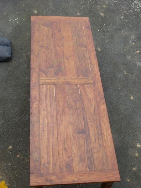 Holz Tisch 3 Meter  Wohndesign