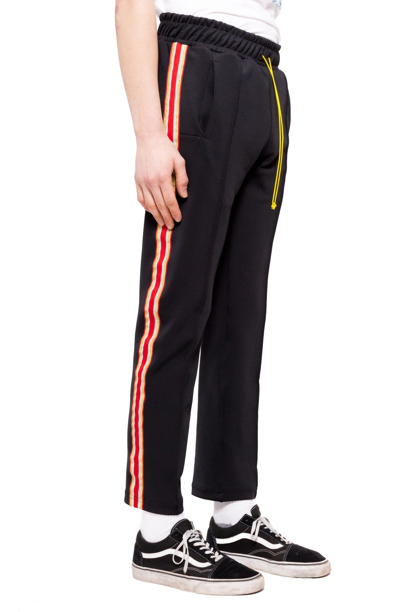 100% authentic 7c6a6 f1f4a Bravo Track Pants - BlackRed