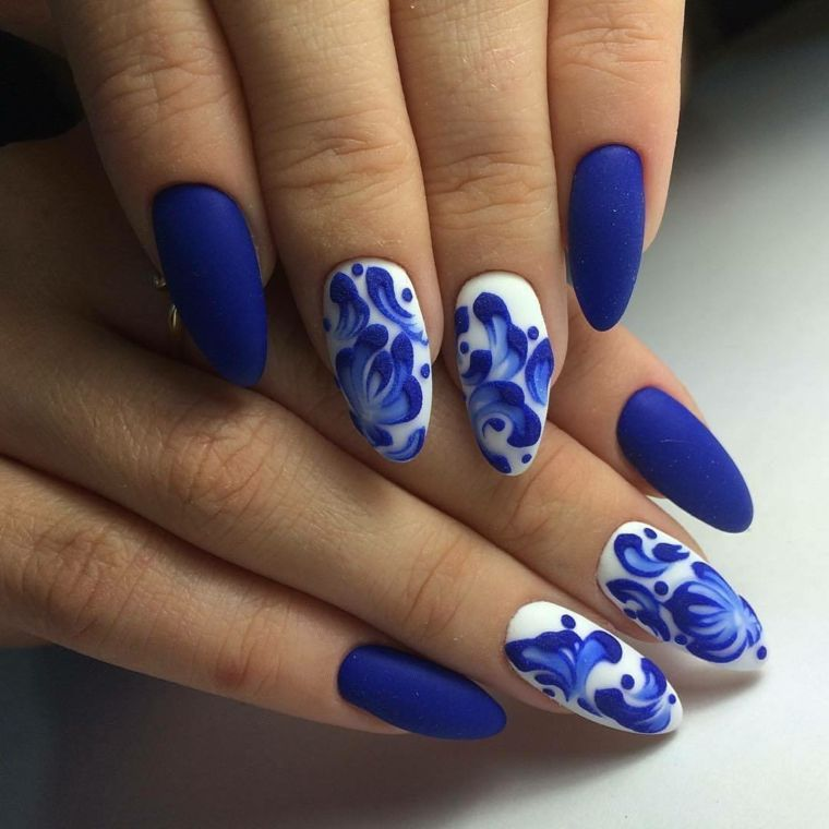 56 Lovely Acrylic Almond Shaped Nails To Inspire You This