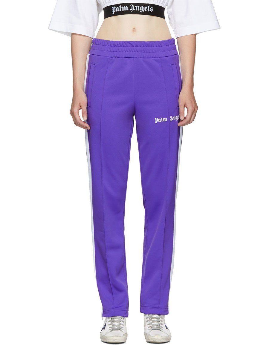 806de68e h3>PALM ANGELS</h3> Purple Classic Track Pants | Women Clothing ...