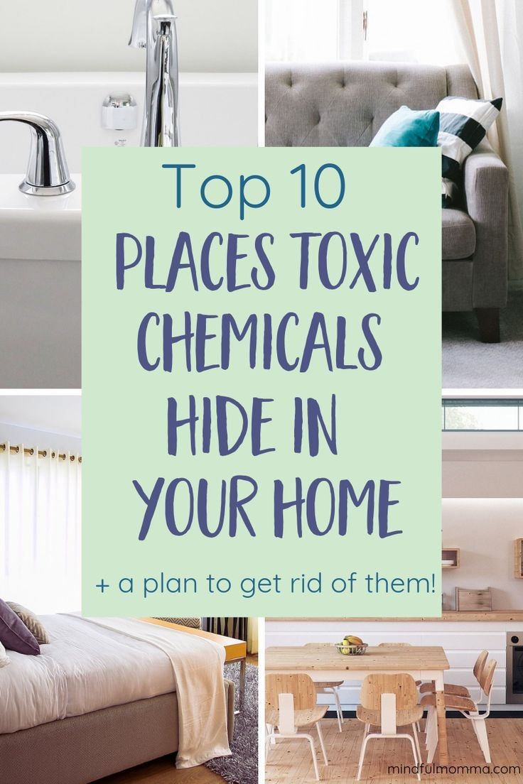 Top 10 Surprising Hidden Sources of Toxins in the Home #healthyliving