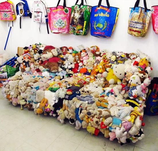 Fun Furniture Made Of Soft Toys Craft Ideas And Ways To