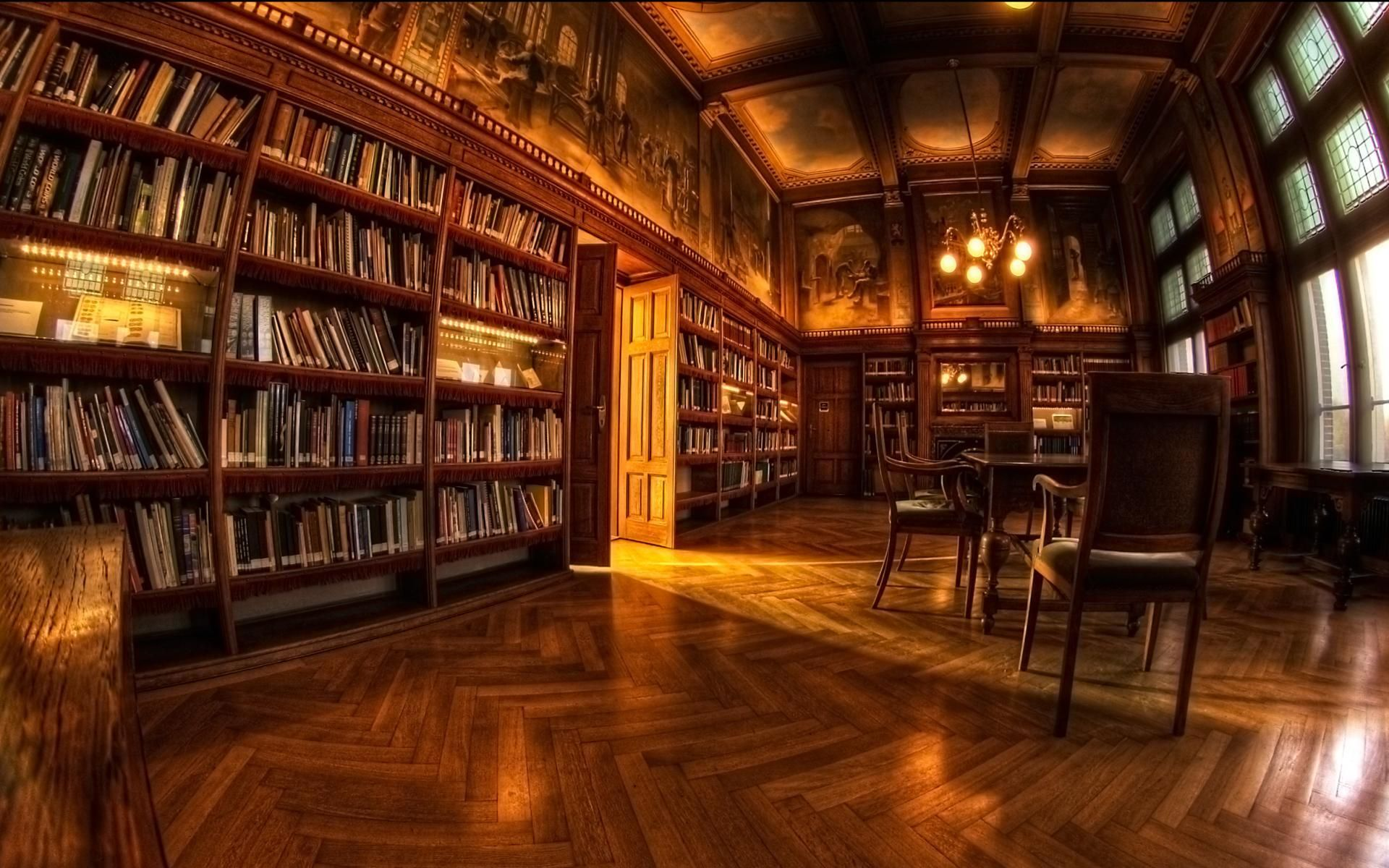 Library Photography Hd Wallpaper X B O O K S L I F E