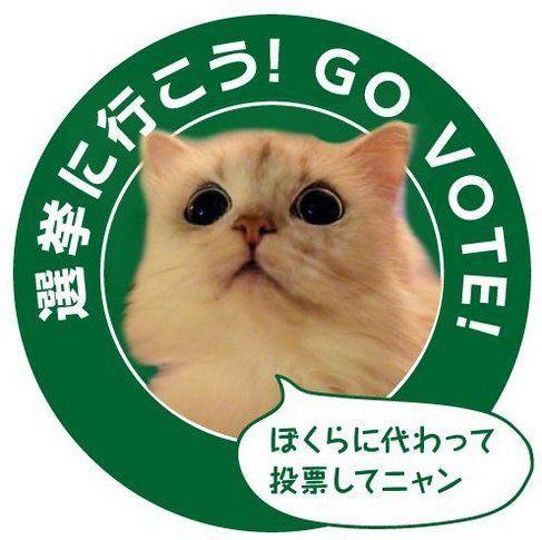 江口寿史さんら、選挙ステッカーで投票呼びかけ「こう見えても選挙権あるんだよ」【画像】