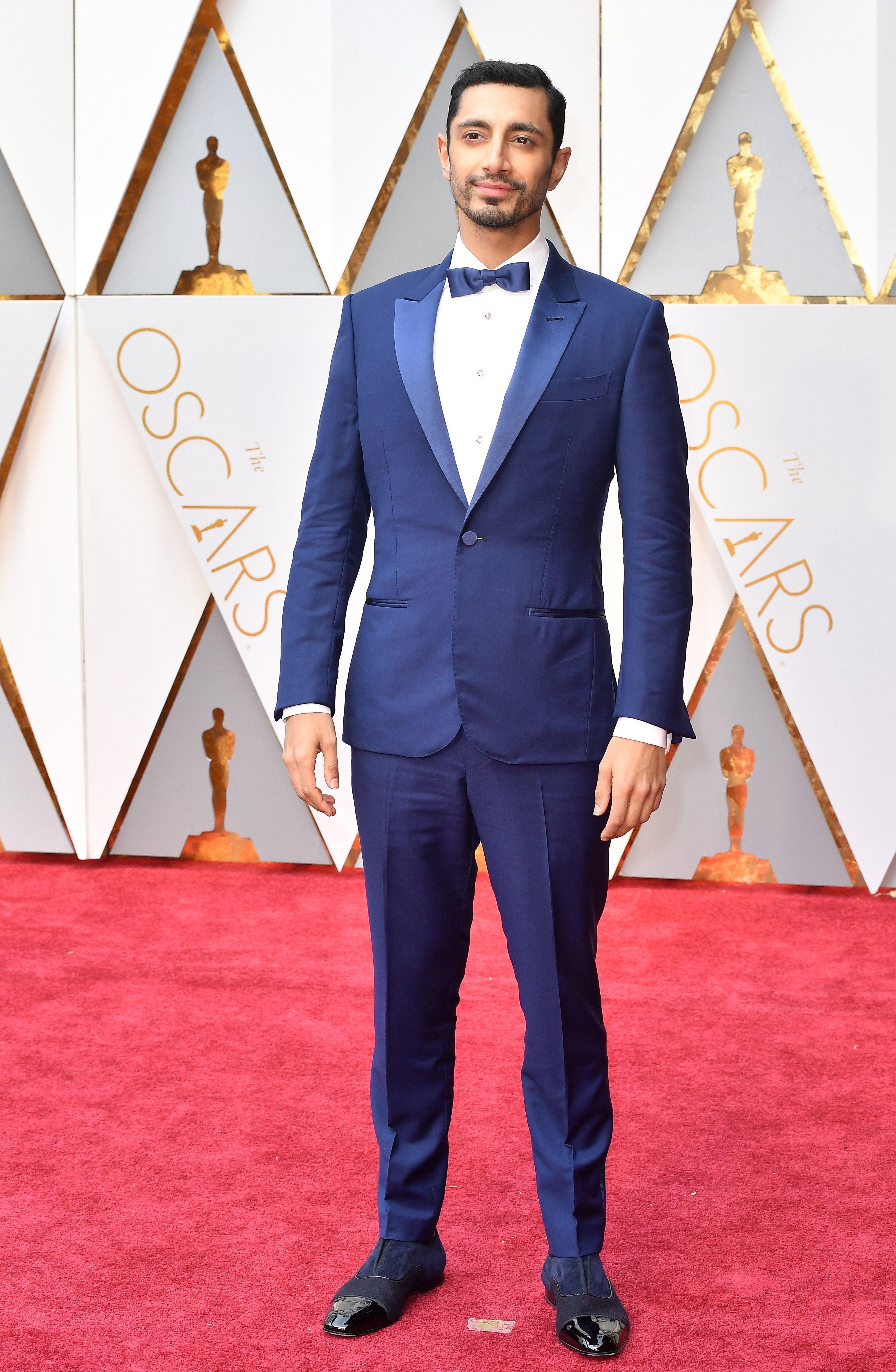 Oscars 2017: The Best Dressed Men   Royal blue suit