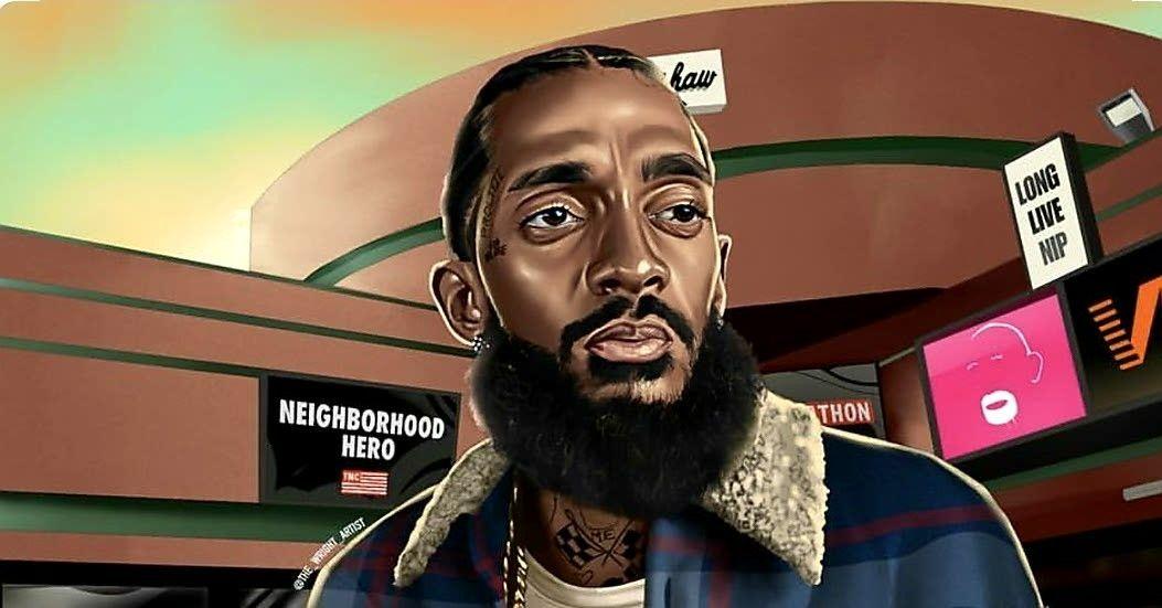 Pin by C.rag on hip hop Lauren london nipsey hussle, Hip