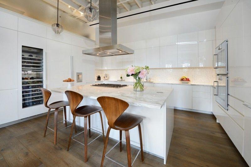 Greenwich Street Penthouse Loft À New York | Projet Et Cuisines