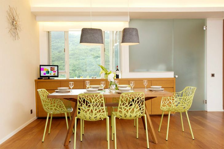 The Perfect Colorful Modern Chair For A Dining Room