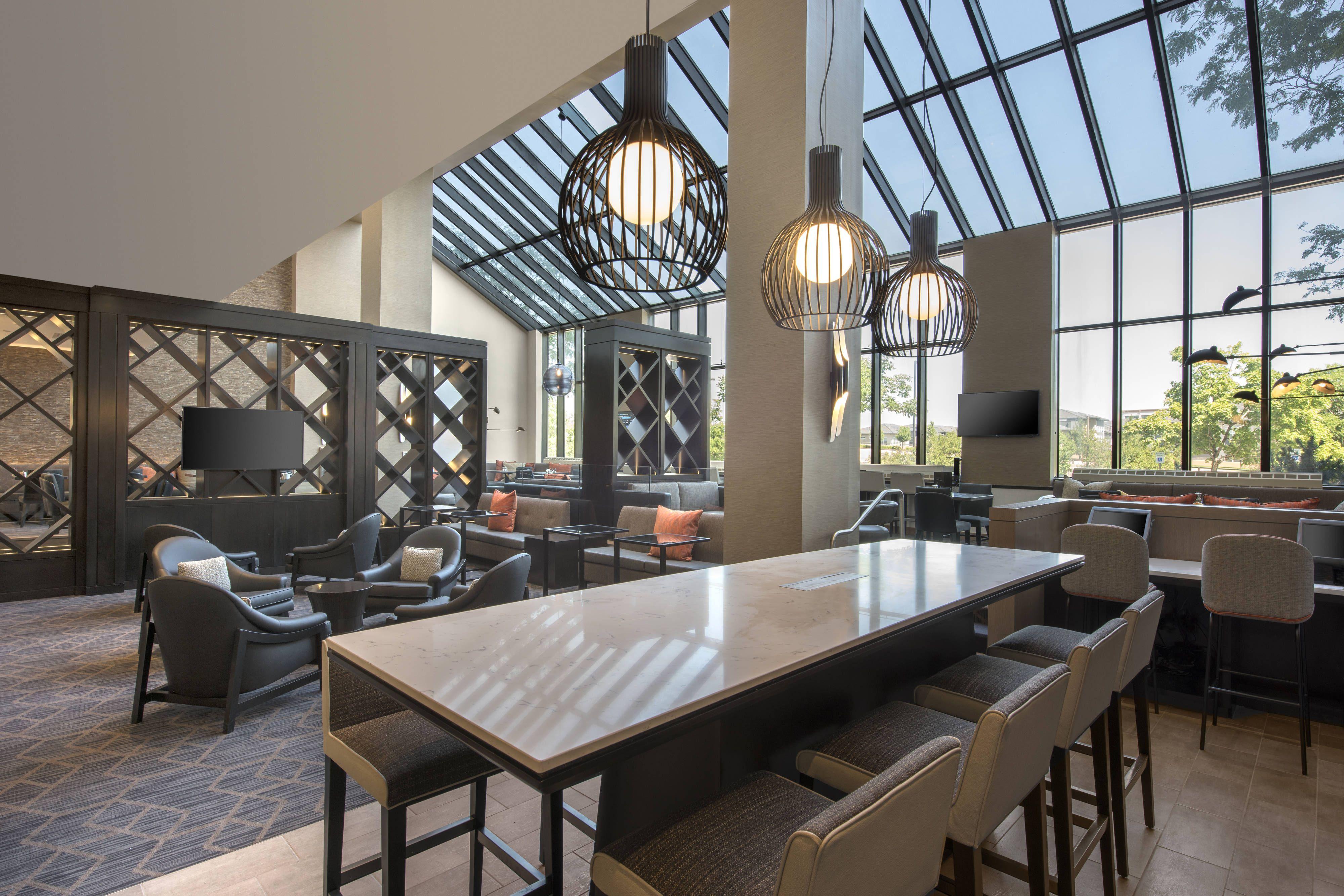 Denver Marriott Tech Center M Club Lounge Hotel Guestbathroom