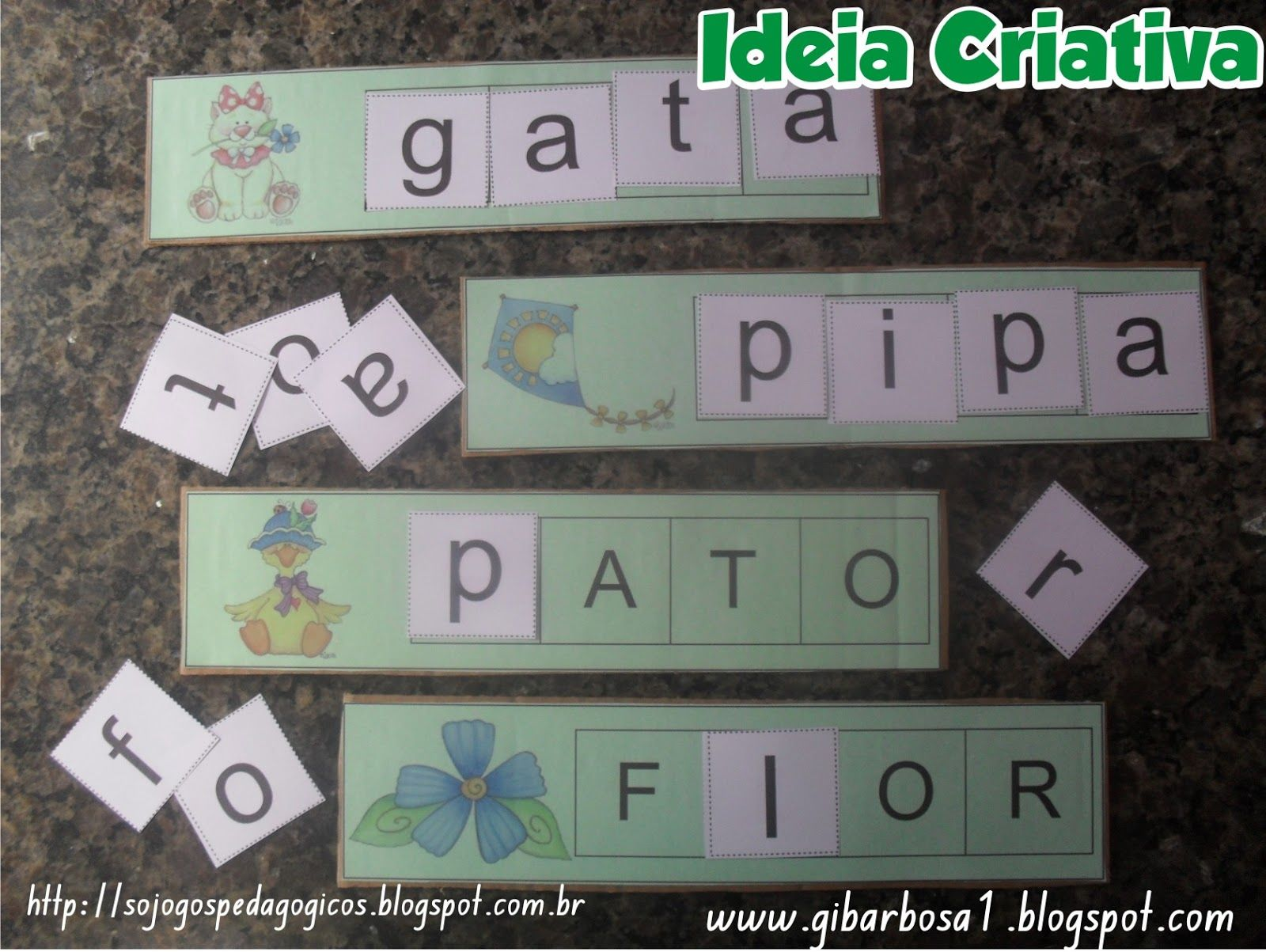 Favoritos Só Jogos Pedagógicos: Jogo Pedagógico Letras do Alfabeto  NR14