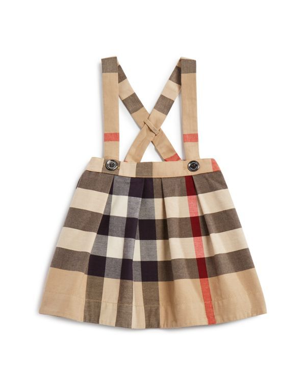 0f33586f286e Burberry Infant Girls  Sofia Checked Skirt - Sizes 6-36 Months ...