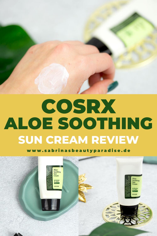 Aloe Soothing Sun Cream COSRX Erfahrungen Meine