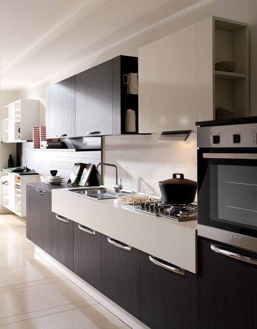 Diseños muebles de cocina melamina | muebles de cocinas modernas de ...