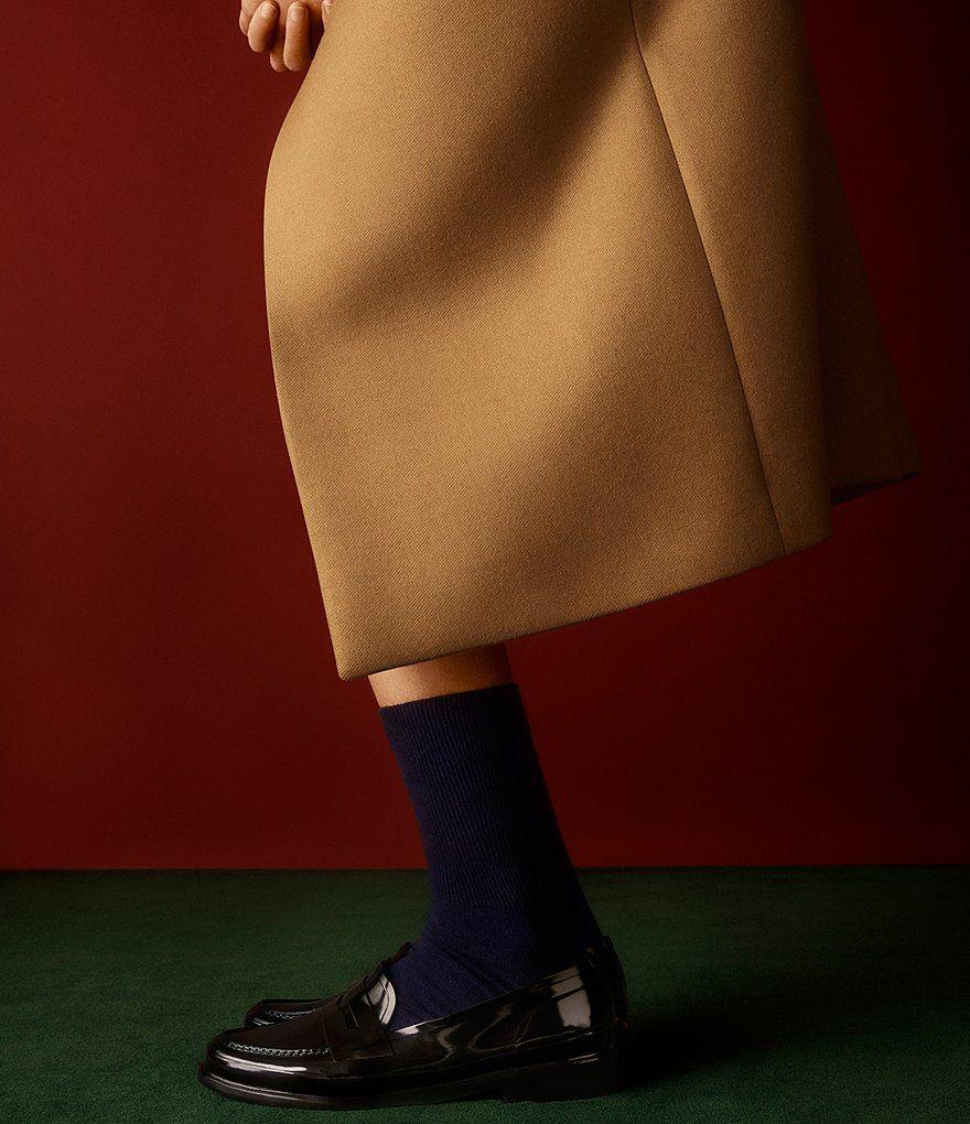 1188e986b88 Black Hunter Women s Original Short Waterproof Rubber Penny Loafers ...