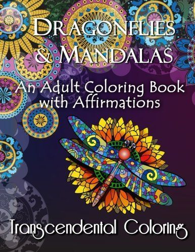 Beautiful Designs And More In This Dragonfly Adult Coloring Book Makes It A Great Gift Idea For Lovers
