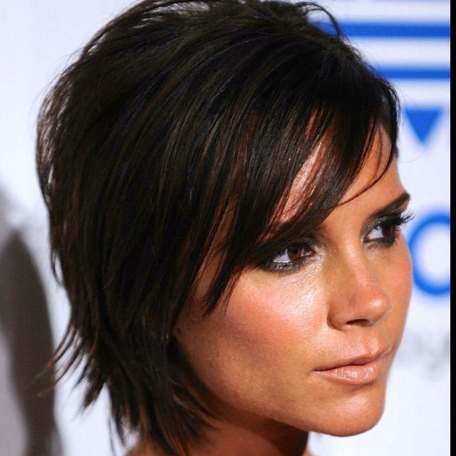 Victoria Beckham Hairstyle Frisuren Kurzhaarfrisuren Bob Frisur