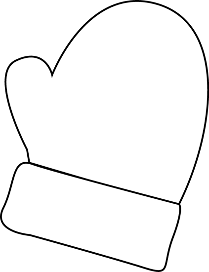 mittens clip art black and white mitten clip art black and white rh pinterest com mitten clip art outline mitten clip art for kids