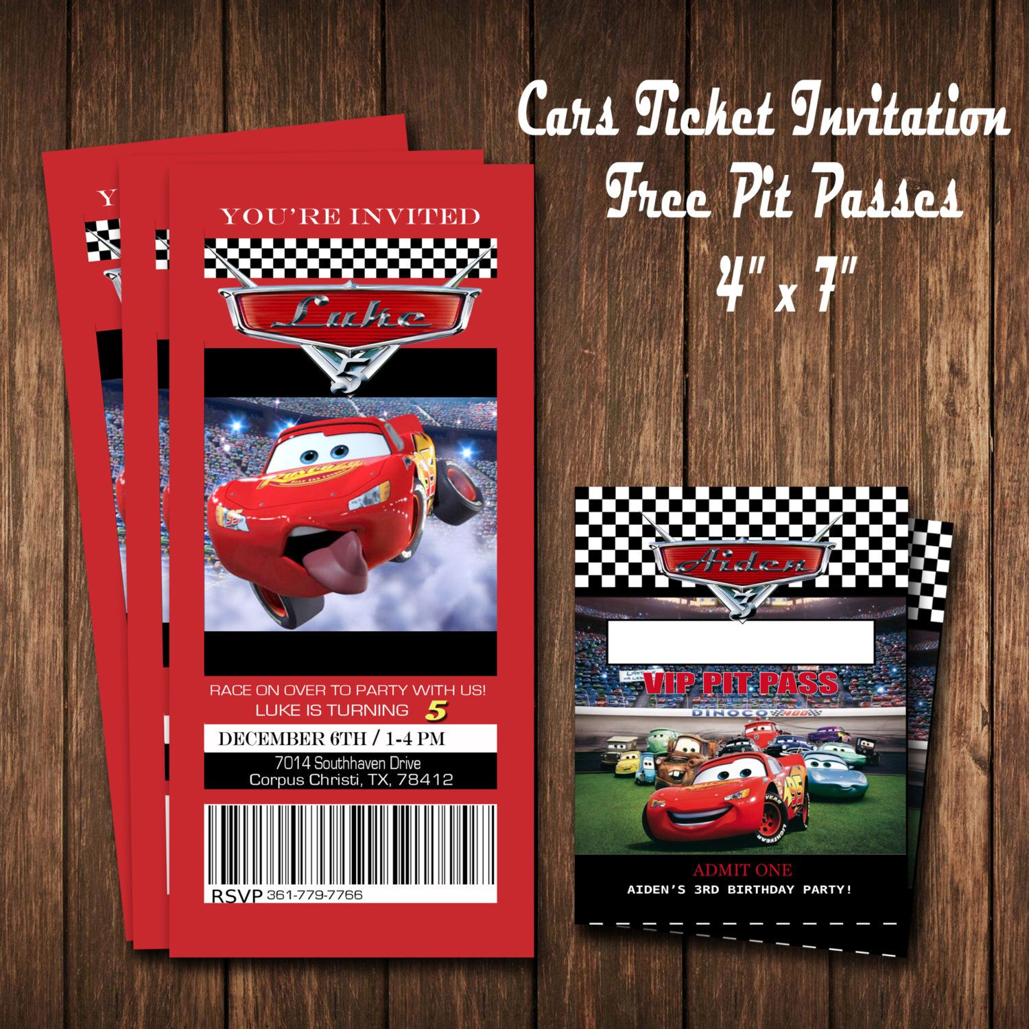 disney cars party invitation by tlcsquared on etsy https www etsy