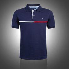 Excellent quality 2014 Fashion Short sleeve Brand men t shirt cotton male t shirt casual mens t shirts Lapel tshirts size S-XXL(China (Mainland))