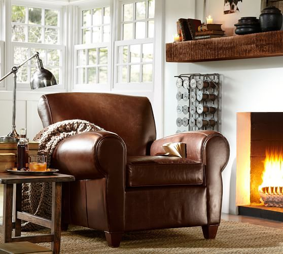 Benchwright Shelf Pottery Barn With or without a fireplace this