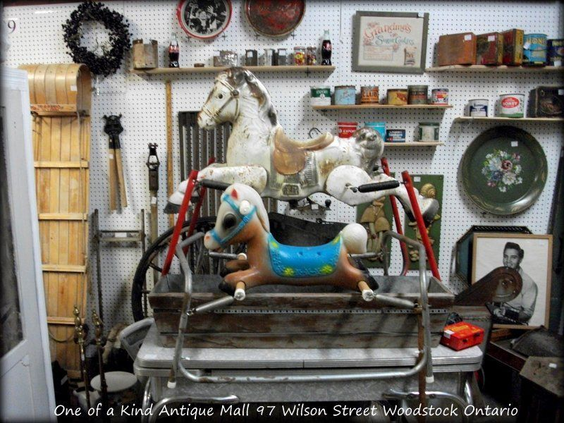 Retro Vintage Rocking Horses at One Of A Kind Antiques