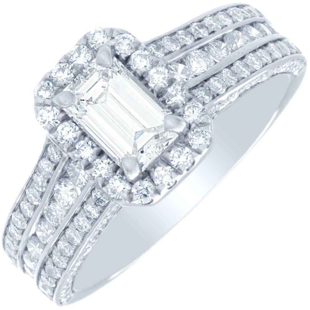 carat engagement in ring platinum round rings set er solitaire certified gia diamond