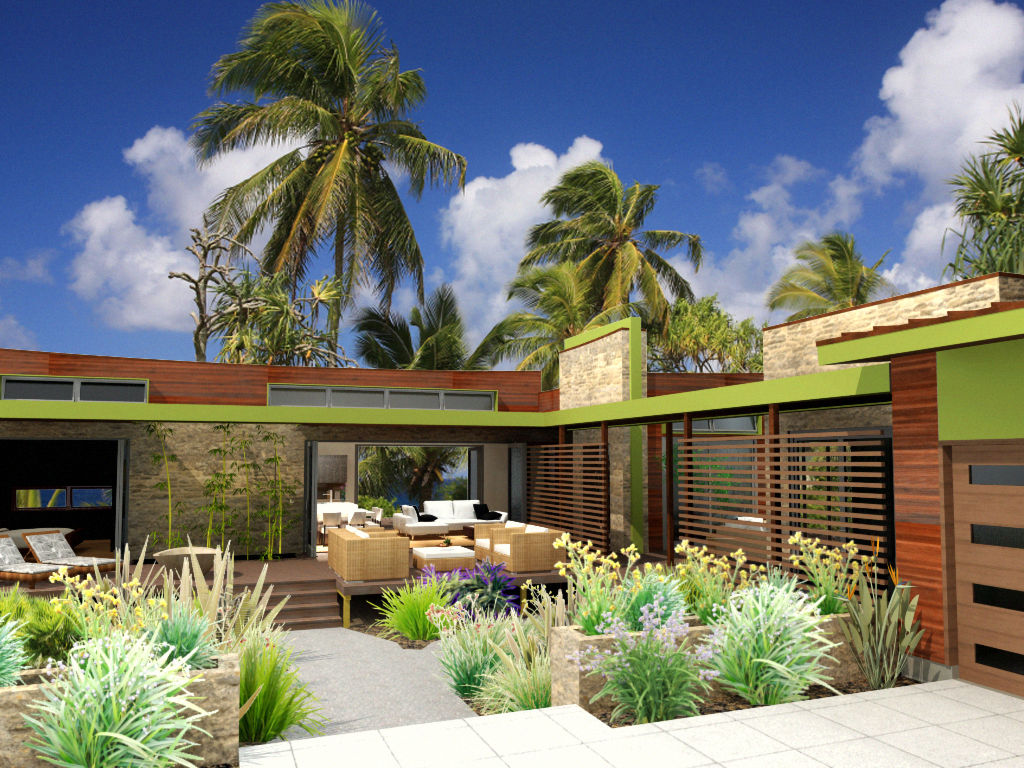 Eco Resort House Plans Modern Style House Plans Building Plans House Contemporary House Plans