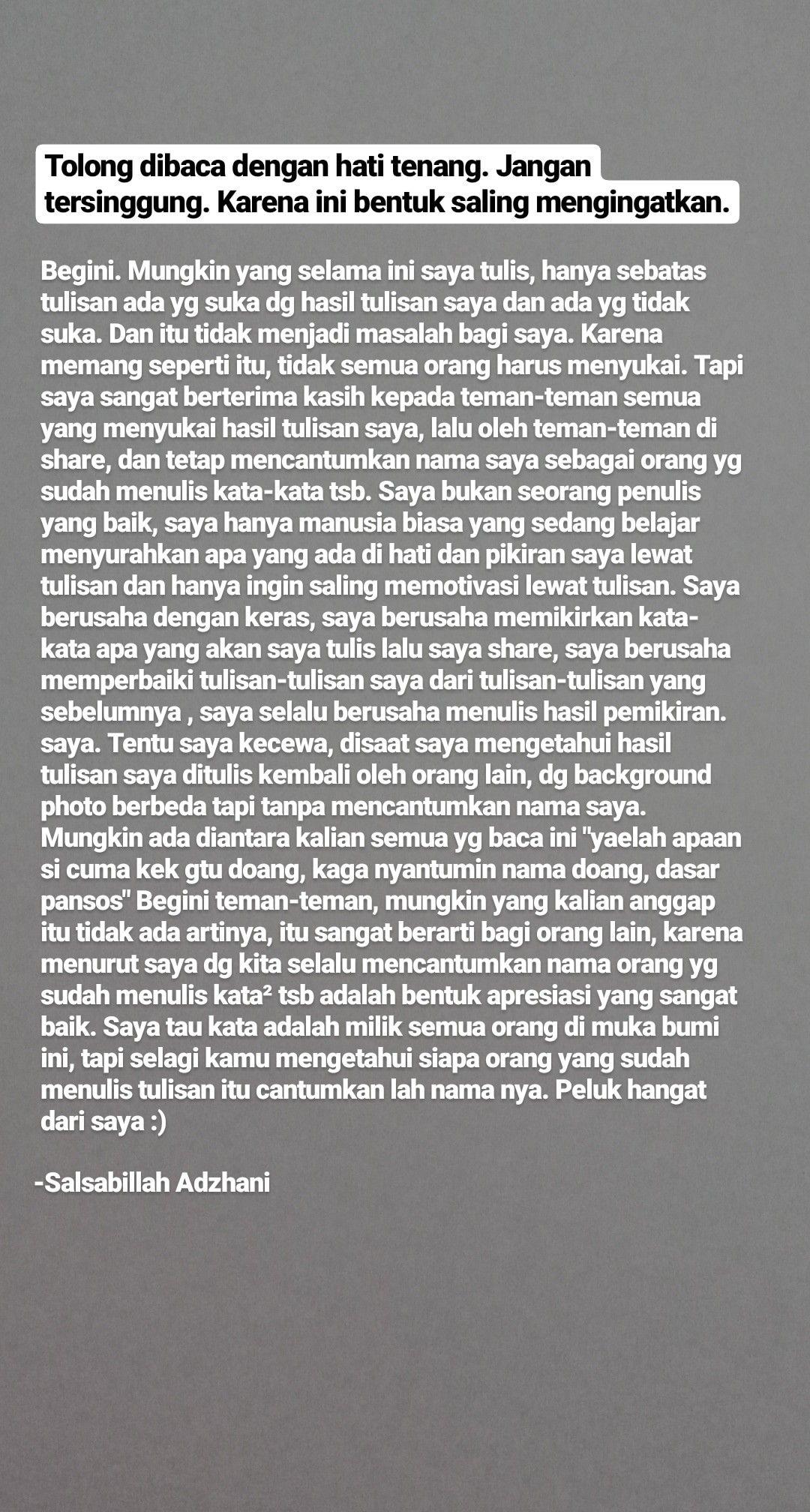 Pin Oleh Hello Fellas Di Some Reminder For Us Kata Kata Indah